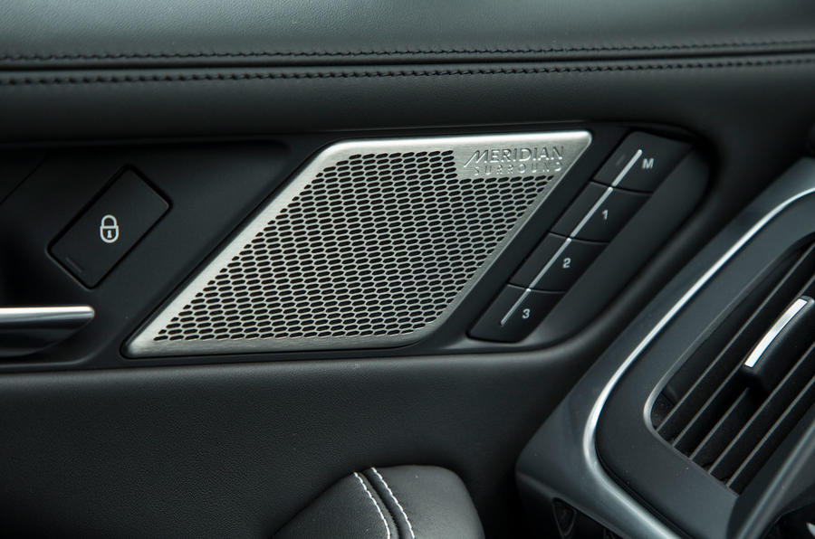 Jaguar I-Pace 2018 road test review speakers