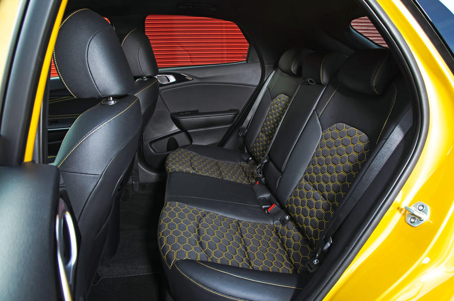 Kia Xceed 2019 road test review - rear seats