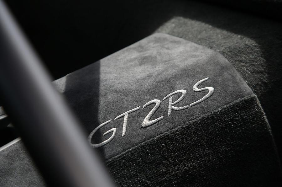 Porsche 911 GT2 RS 2018 road test review interior trim