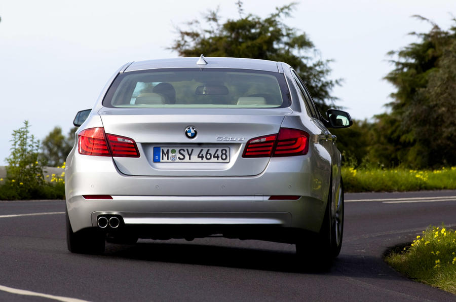 BMW 5-series v Mercedes E-class