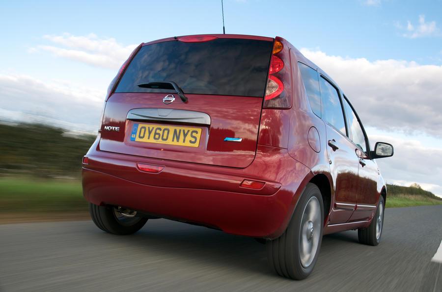 Nissan Note rear