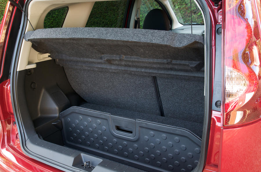 Nissan Note boot space