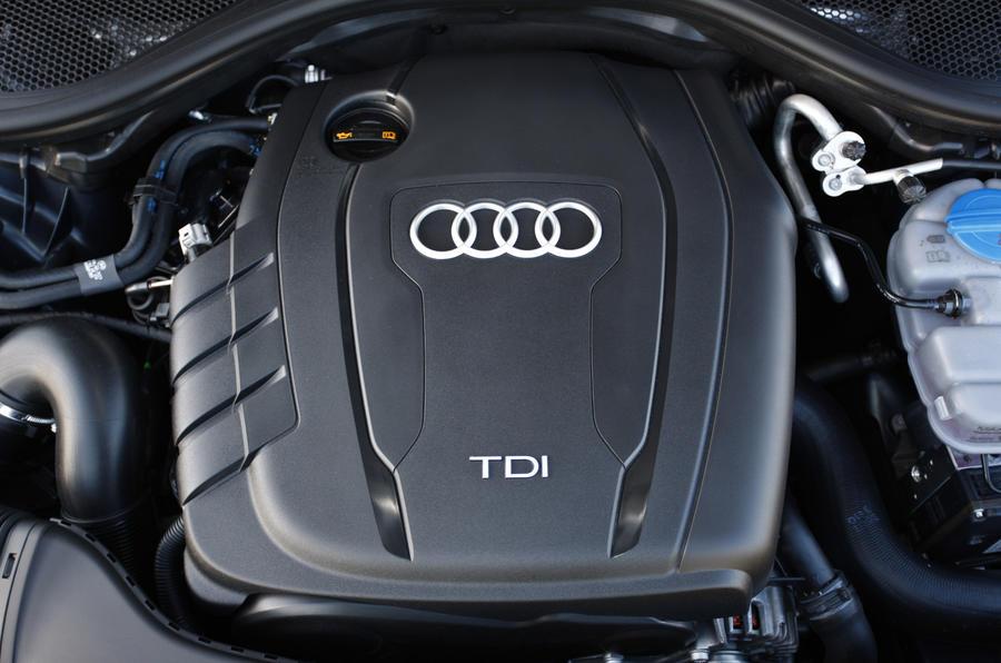 2.0-litre TDI Audi A6 engine