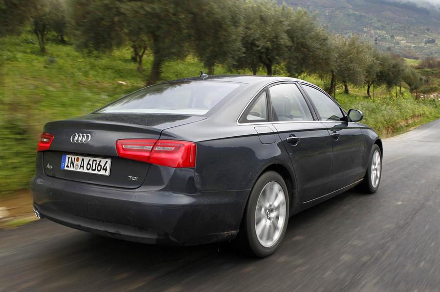 Audi A6 2.0 TDI SE rear