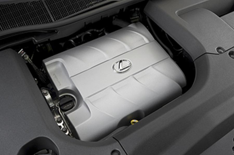 Lexus RX 450h electric battery