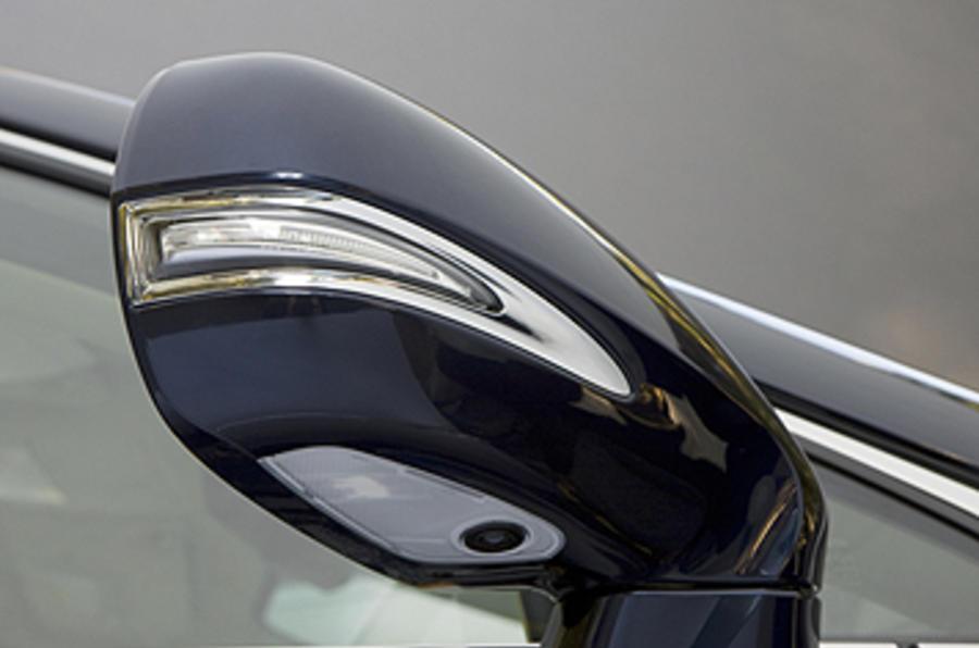 Lexus RX wing mirror