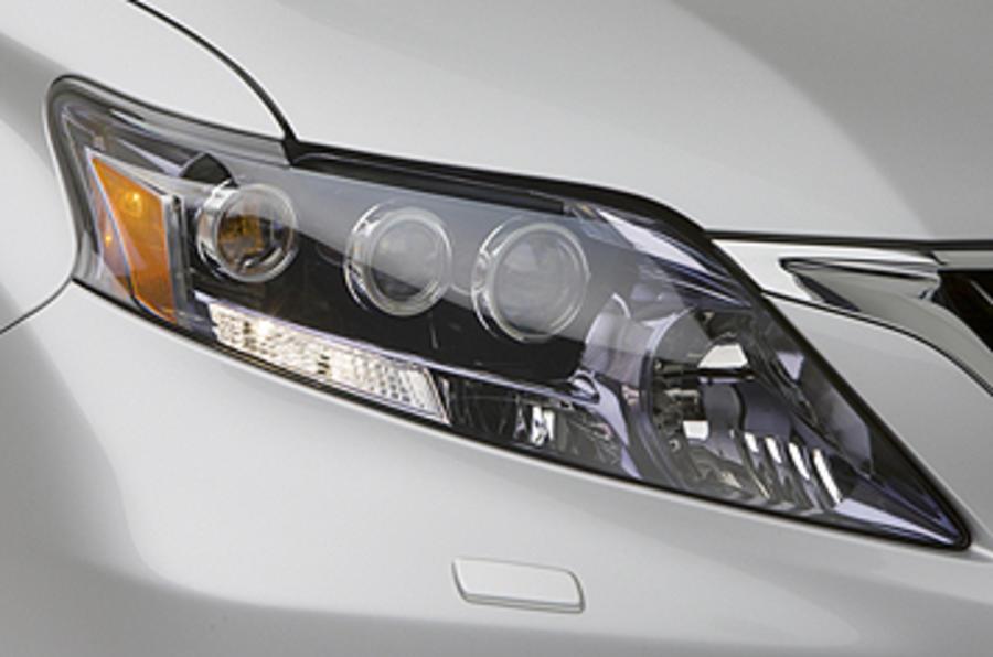 Lexus RX headlights