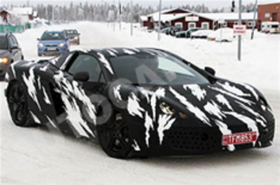 McLaren P11 spied in Sweden