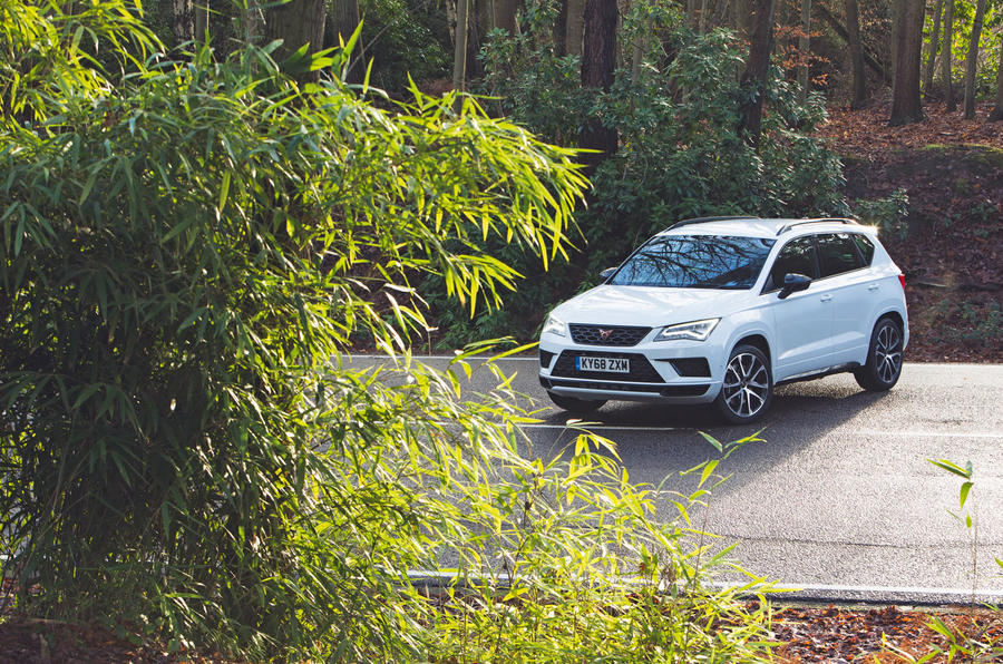 Cupra Ateca 2019 road test review - static
