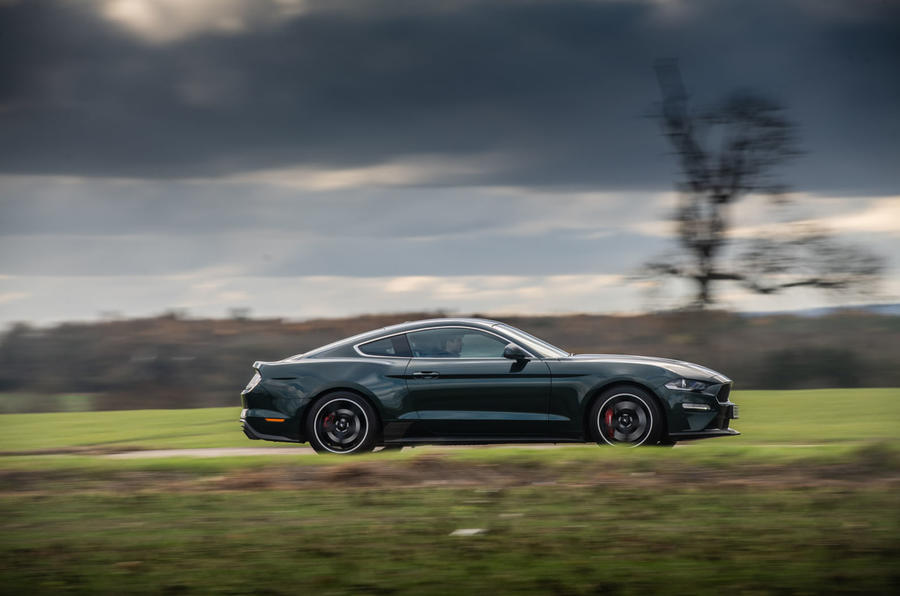 Ford Mustang Bullitt 2018 road test review - on the road right