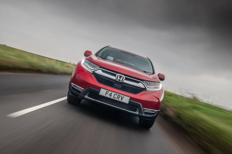 Honda CR-V 2018 road test review - on the road nose