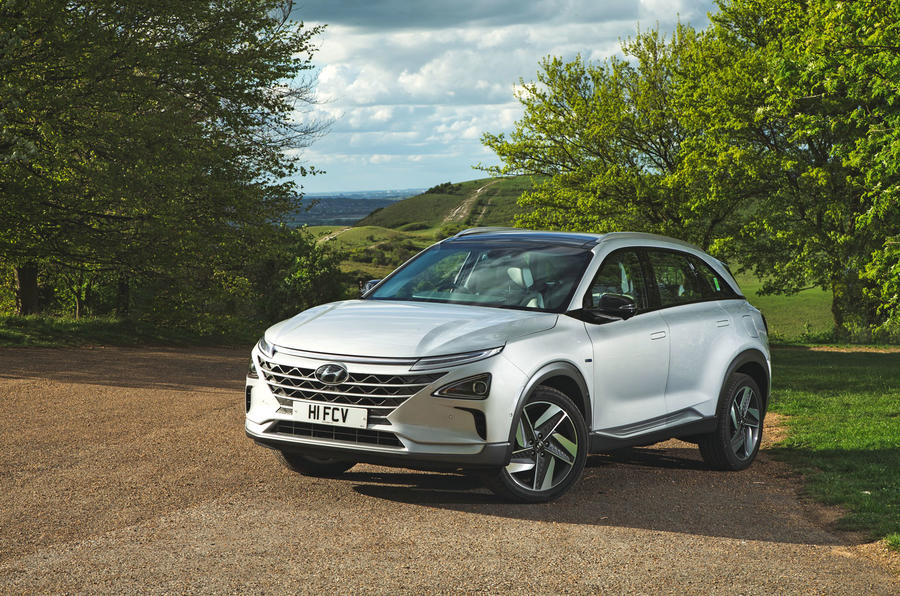 Hyundai Nexo 2019 road test review - static