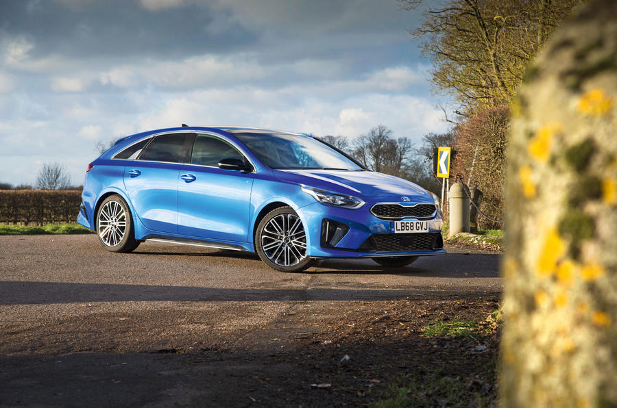 Kia Proceed GT-Line 2019 road test review - static