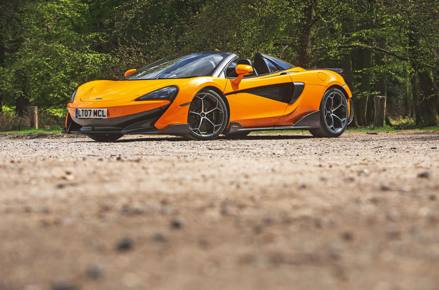 McLaren 600LT Spider 2019 road test review - static