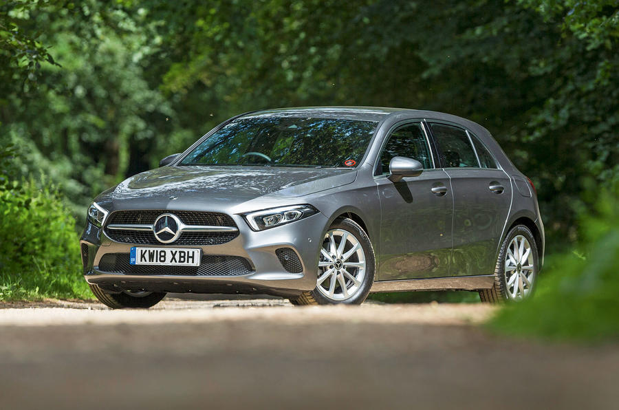 Mercedes-Benz A-Class 2018 road test review hero static