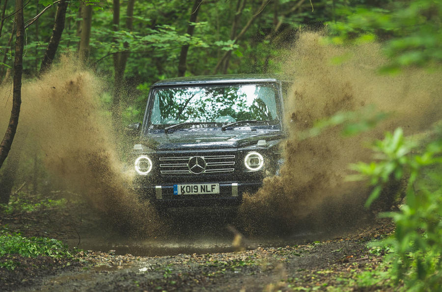 Mercedes-Benz G-Class 2019 road test review - mud