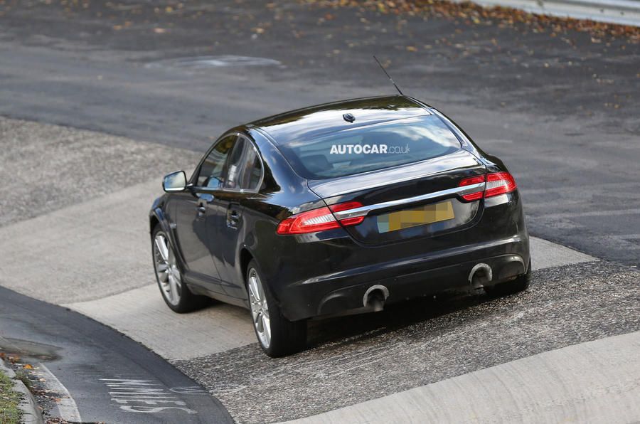 New Jaguar XF and XJ saloons in development