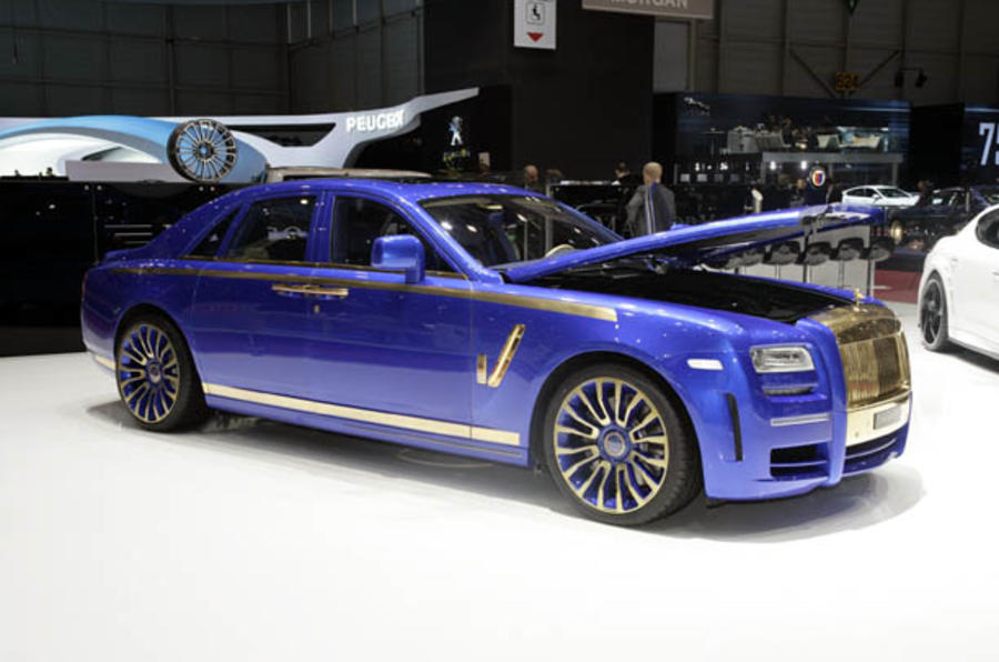 The 720bhp Rolls-Royce Ghost