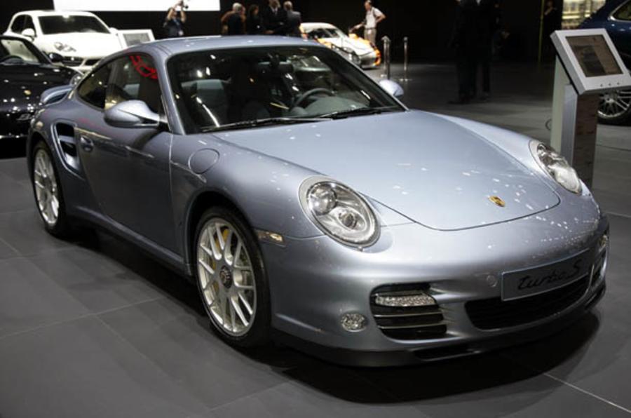 Porsche 911 Turbo S - show pics