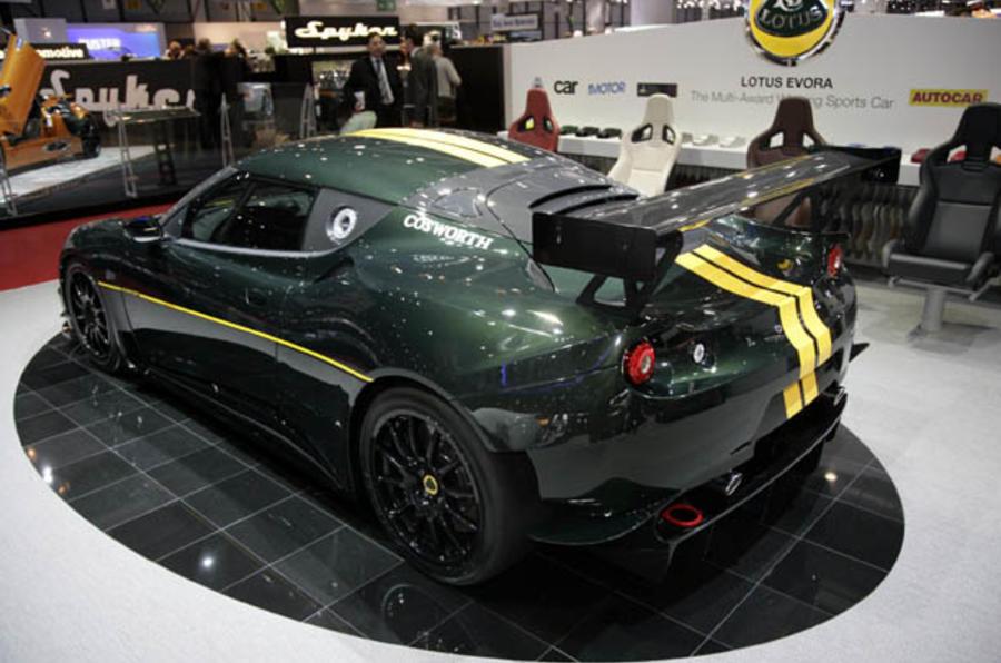 Geneva motor show: Lotus Evora racer