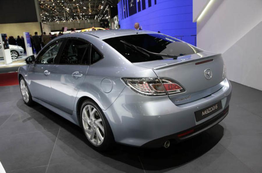 Geneva motor show: Mazda 6 facelift