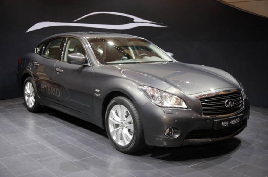 Geneva motor show: Infiniti M35 Hybrid