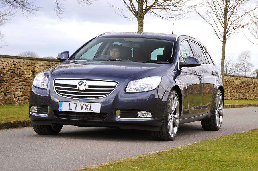 Vauxhall Insignia front end