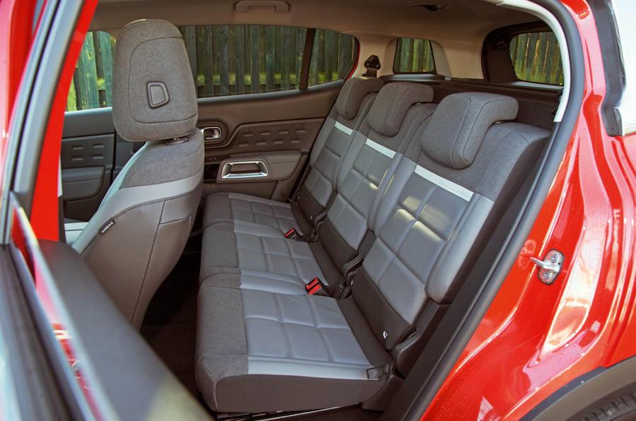 Citroen C5 Aircross 2019 road test review - rear seats