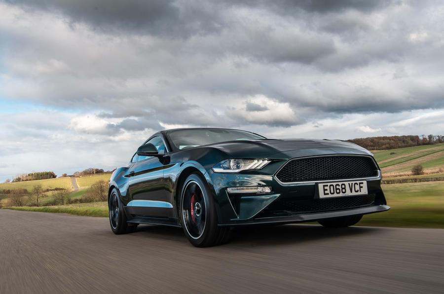 Ford Mustang Bullitt 2018 road test review - on the road