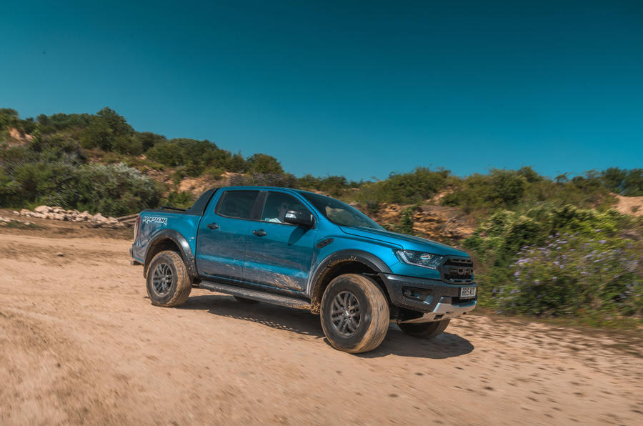 Ford Ranger Raptor 2019 road test review - cornering