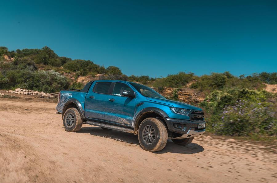 Ford Ranger Raptor 2019 road test review - cornering