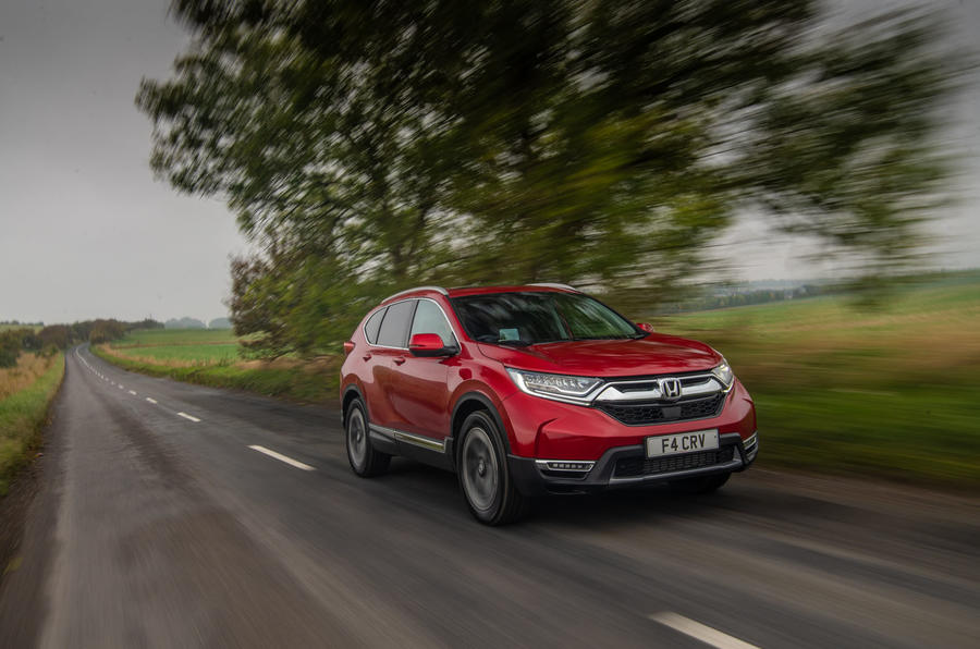 Honda CR-V 2018 road test review - on the road front
