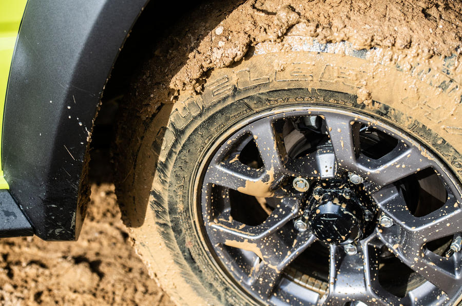 Suzuki Jimny 2018 road test review - mud