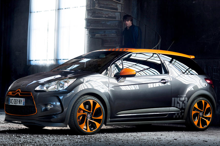 The 204bhp DS3 Racing