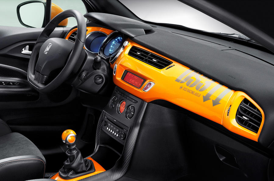 DS3 Racing interior