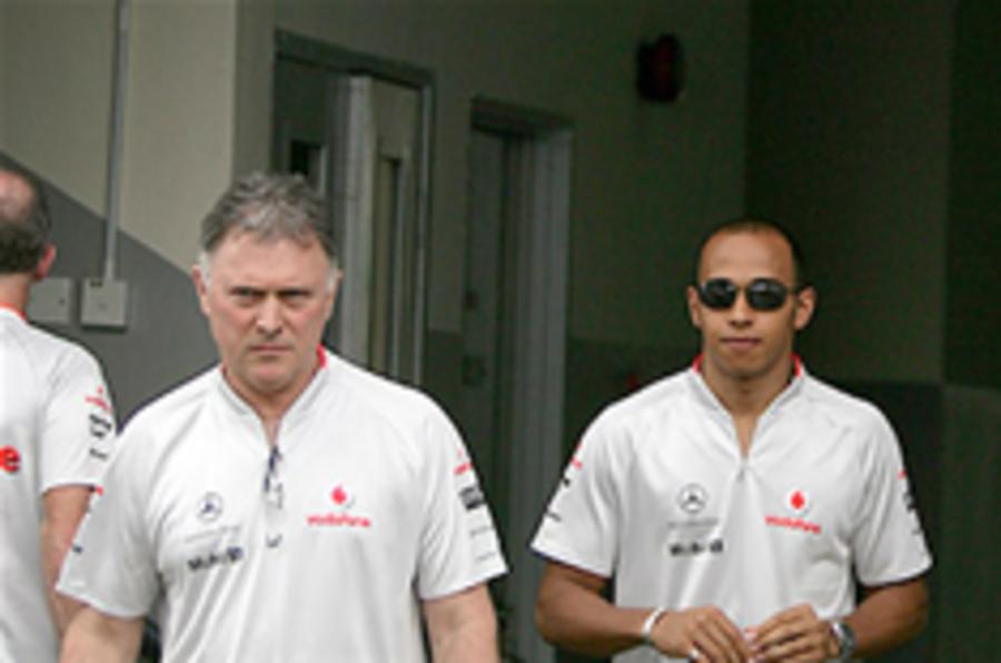 Top McLaren official suspended