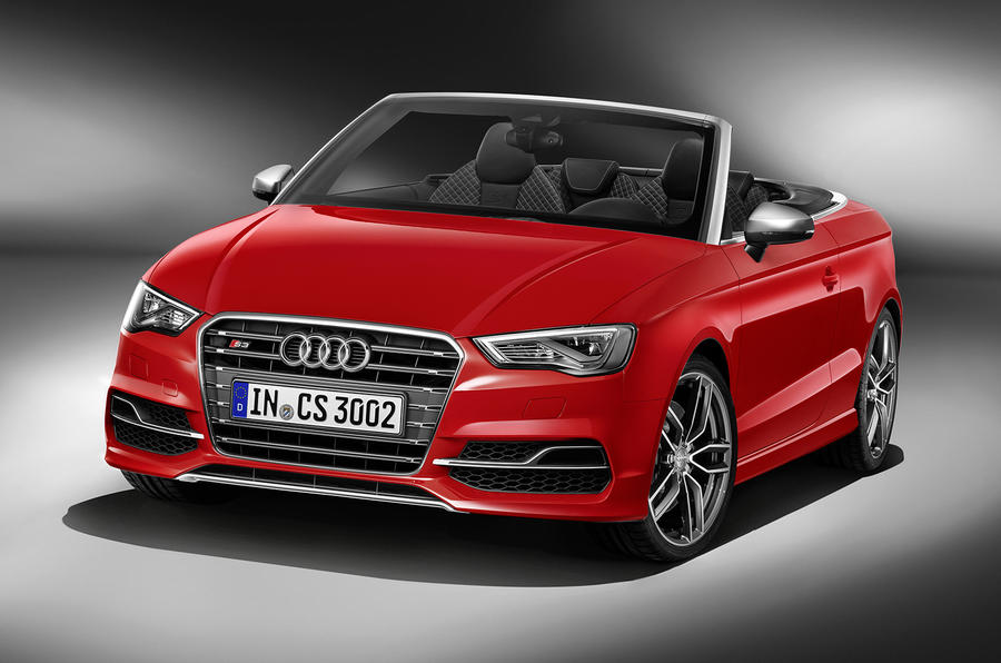 New Audi S3 cabriolet revealed