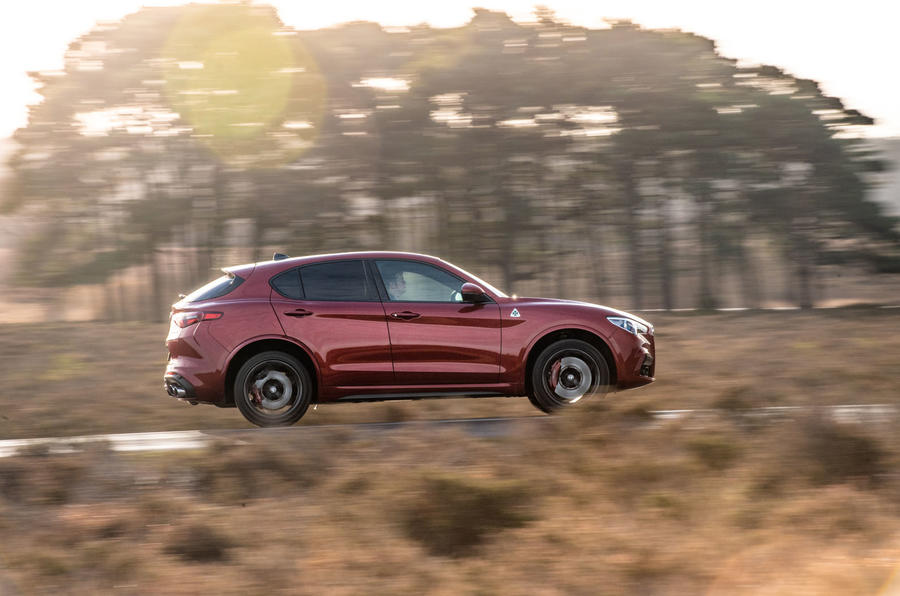 Alfa Romeo Stelvio Quadrifoglio 2019 road test review - on the road right