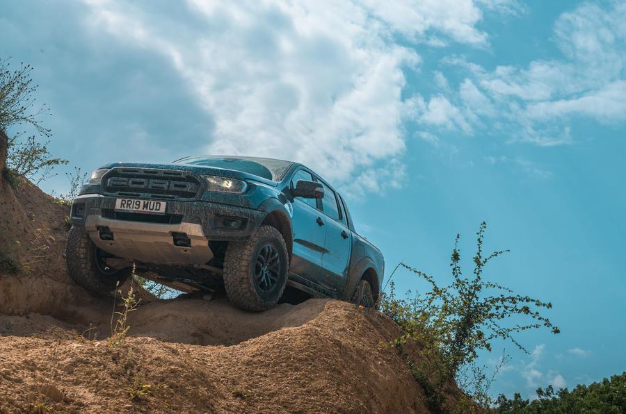 Ford Ranger Raptor 2019 road test review - static