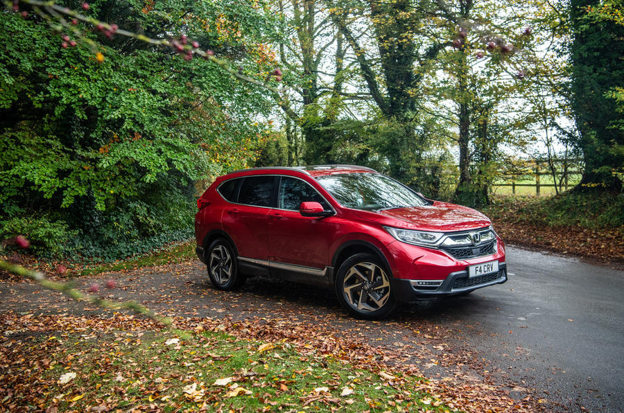 Honda CR-V 2018 road test review - hero static