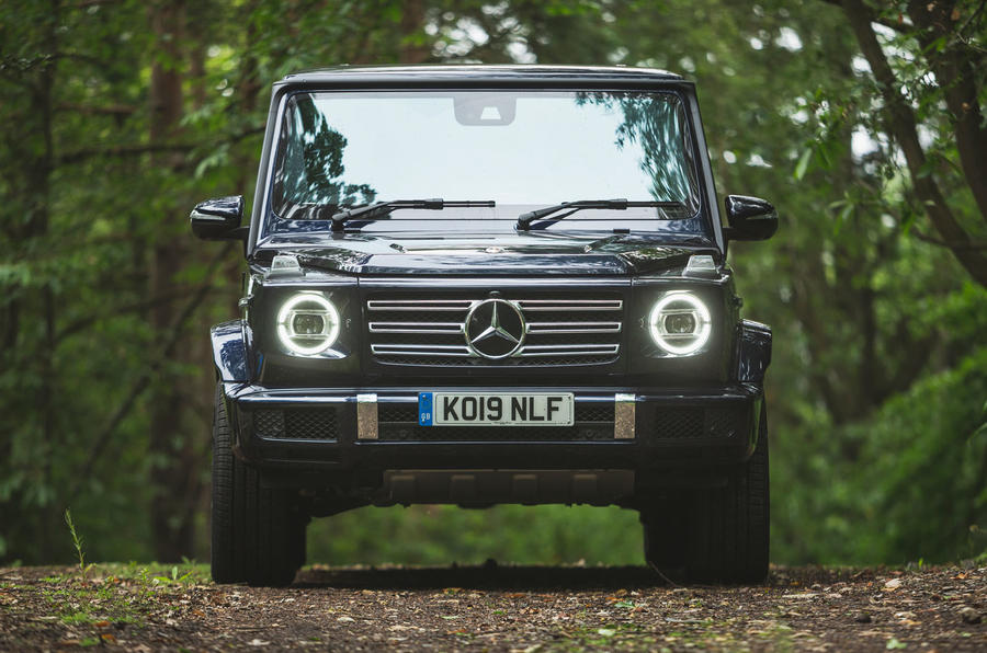 Mercedes-Benz G-Class 2019 road test review - static front