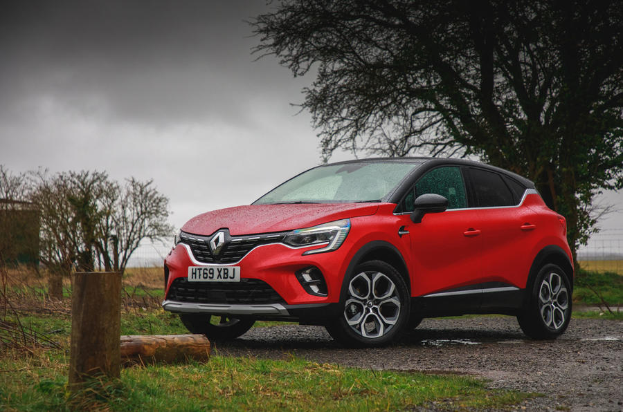 Renault Captur 2020 road test review - static