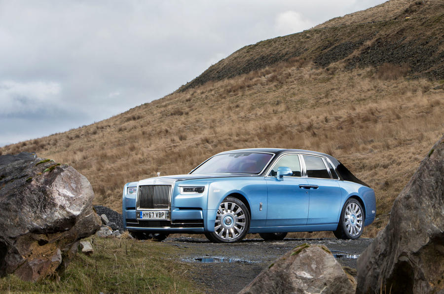 Rolls Royce Phantom 2018 review static