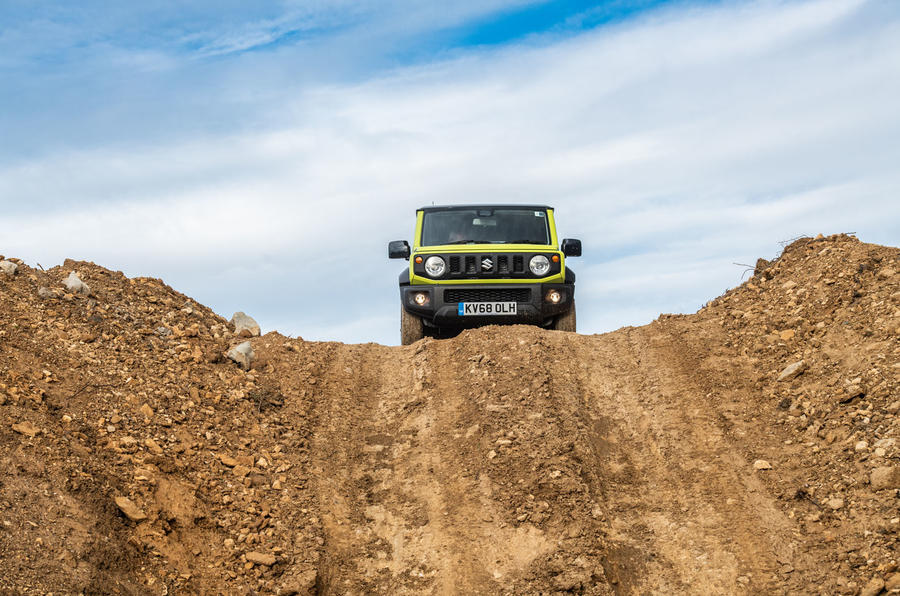 Suzuki Jimny 2018 road test review - crest