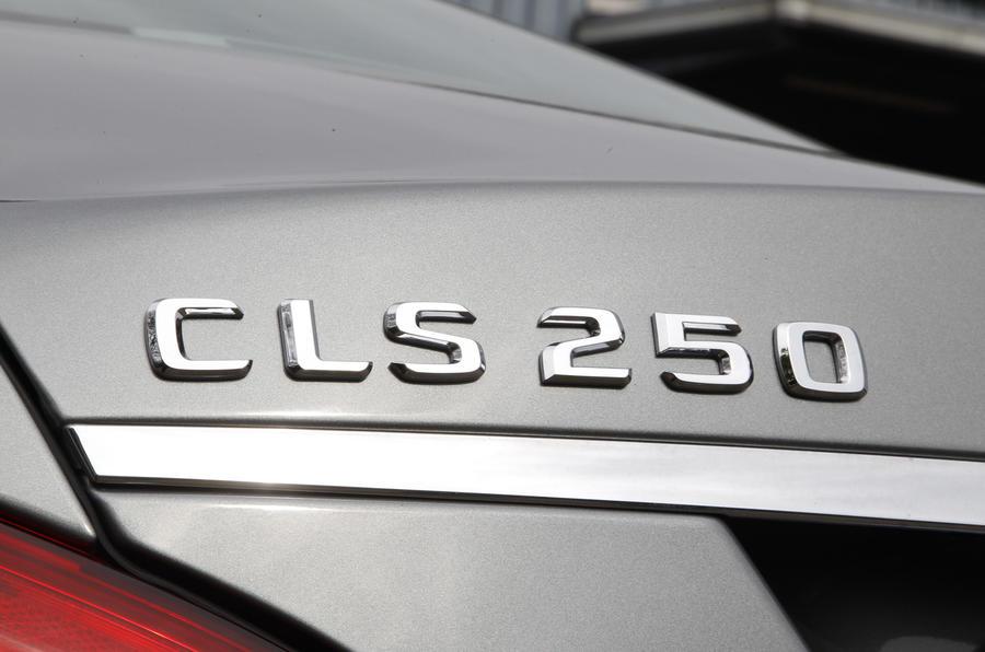 Mercedes-Benz CLS 250 CDI badging