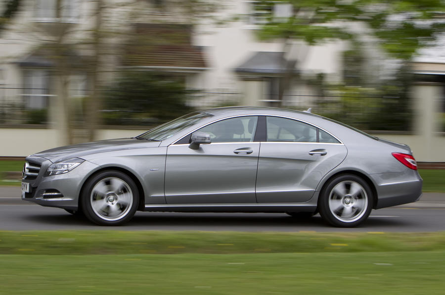 Mercedes-Benz CLS 250 CDI side profile