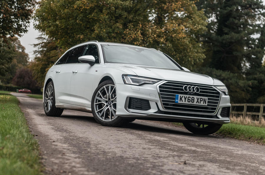 Audi A6 Avant 2018 road test review - static hero
