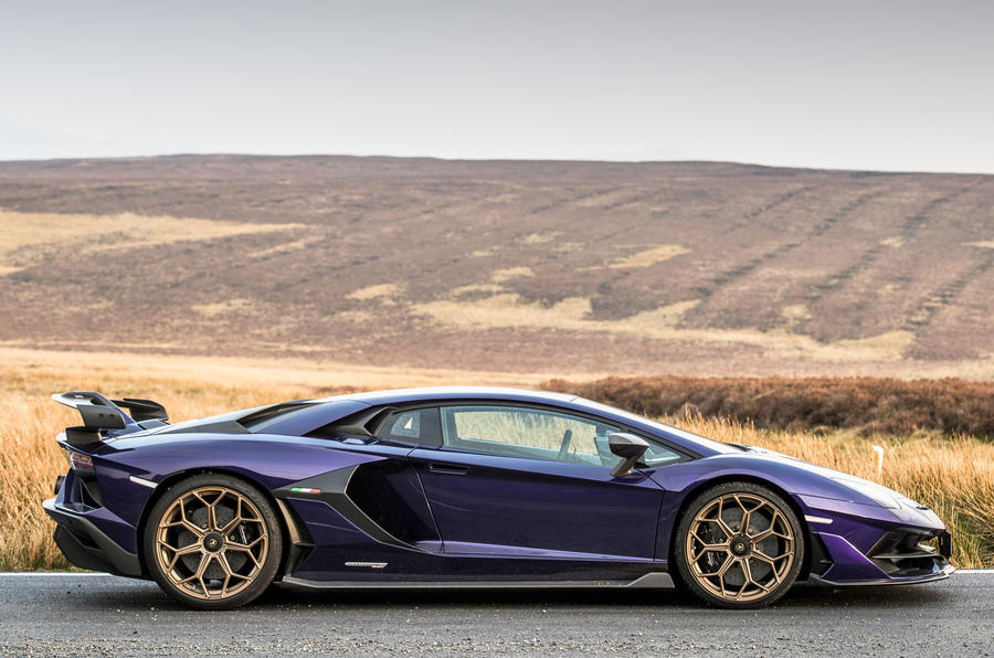 Lamborghini Aventador SVJ 2019 road test review - static side
