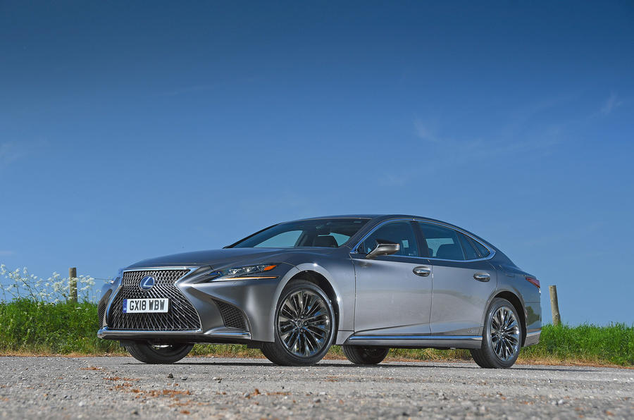 Lexus LS500h 2018 road test review static hero