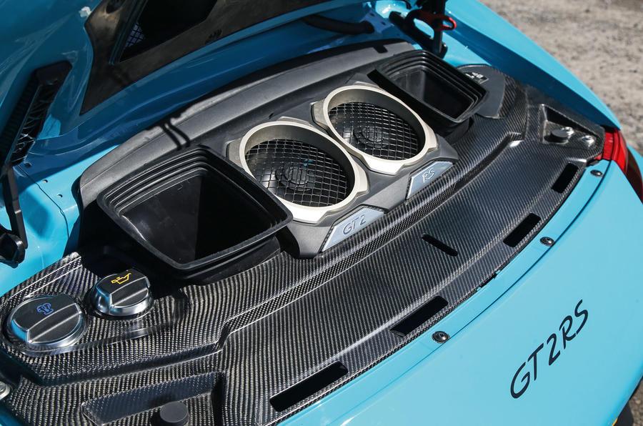 Porsche 911 GT2 RS 2018 road test review engine